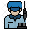 Factory worker Icon