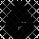 Fahrenheit Drop Degree Icon
