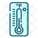Fahrenheit Thermometer Temperature Icon