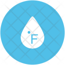 Fahrenheit Drop Degree Icon