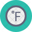 Fahrenheit Forecast Weather Icon