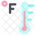 Thermometer Temperature Fahrenheit Icon