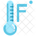Fahrenheit Temperature Thermometer Icon