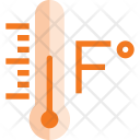 Fahrenheit Degree Temperature Icon
