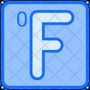 Fahrenheit Season Day Icon