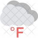 Fahrenheit Weather Temperature Icon