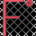 Fahrenheit Degrees Icon
