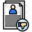 Fail Candidate Icon