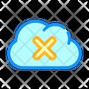 Failed Access Cloud Icon