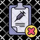 Fail Test Icon