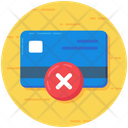 Failed Card Payment Failure Access Denied Icon