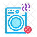 Failed Washing Machine Icon