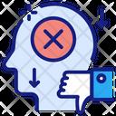 Failure Mark Trouble Dilemma Icon