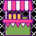 Fair Stall Shop Icon