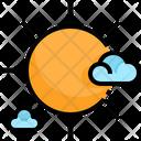 Fair Weather Weather Sun Icon