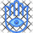 Faith Silhouette Lotus Icon