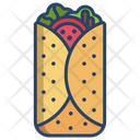 Fajita Tacos Tortilla Icon