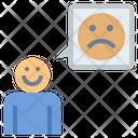 Fake Happy Sadness Icon