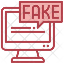 Fake News Report Communications Icon