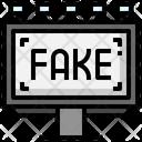Fake Advertising Fake Marketing Billboard Icon