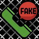 Fake Call Call Hoax Icon