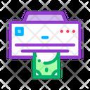 Fake Money Printer Icon