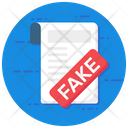 Fake News Icon