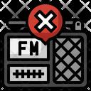 Fake News Radio Radio Antenna Icon