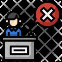 Fake Speech Speech Incite Icon