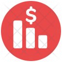 Fall Money Decrease Icon