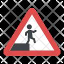 Fall Hazard Prevention Icon