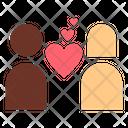 Fall In Love Heart Love Icon