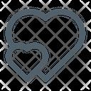 Fall In Love Love Heart Icon
