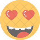 Fall In Love Emoji Icon