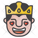 Fall In Love King Icon