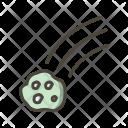 Falling Meteorite Icon