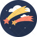 Falling Star Space Icon