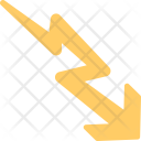 Falling Arrow Icon