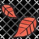 Falling Leaves Tree Dinner Icon