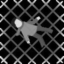 Falling on ice Icon