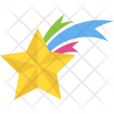 Falling Star Shooting Icon