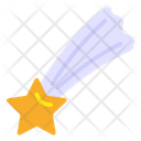Party Accessory Falling Star Meteor Icon