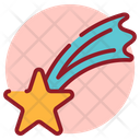 Abstract Star Falling Star Meteoroid Icon