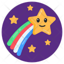 Falling Star Shooting Star Meteor Icon