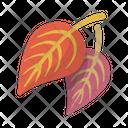 Falling Leaf Fall Icon