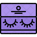 Eyelashes Eye Icon