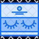 False eyelashes Icon