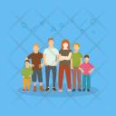 Family Big Members Icon
