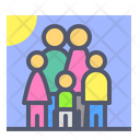Family Kid Child Icon