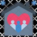 Family Love House Icon